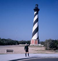 Nomad begins at Cape Hatteras