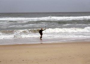 At the Atlantic Ocean