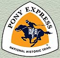 Pony Express NHT Map