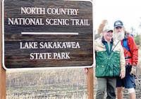 Nomad with John Tunge Sakakawea State Park Manager
